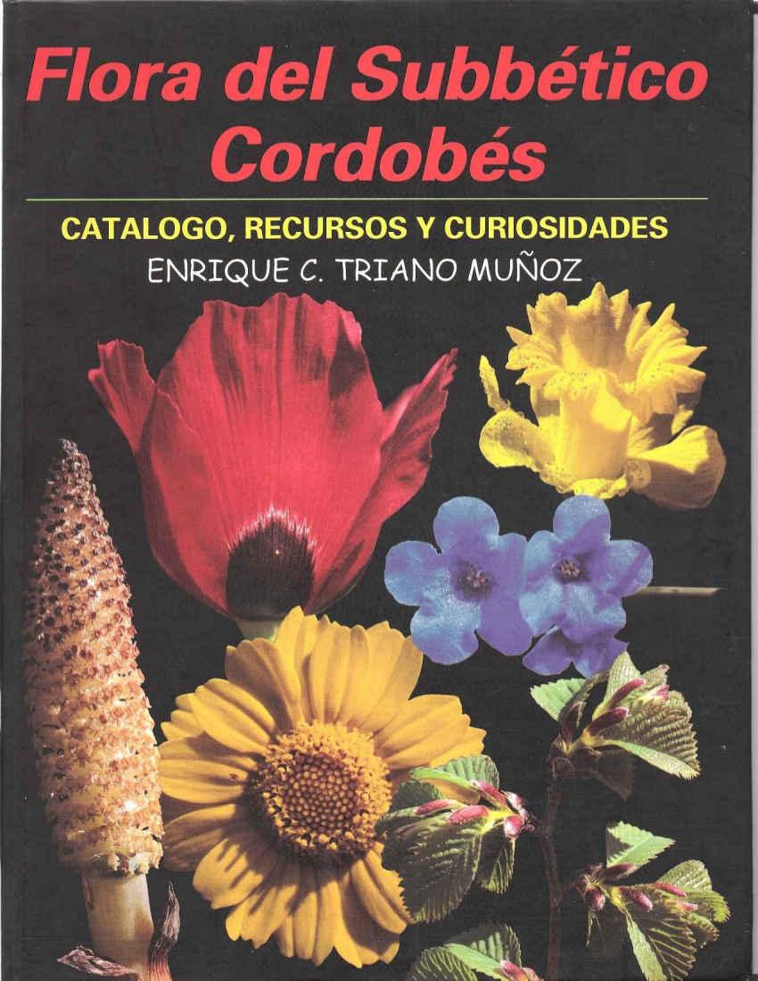 Flora del subbético cordobés versión publicada