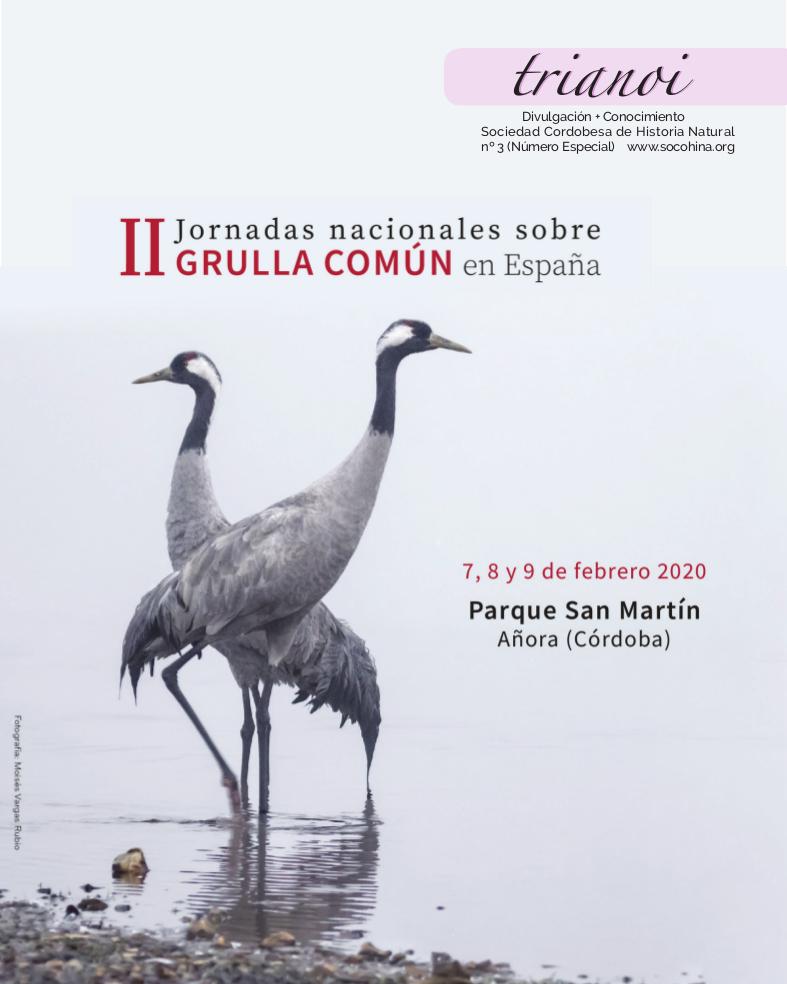 Trianoi_3_congreso_Grullas portada